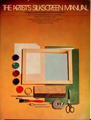 The artist's silk screen manual PDF