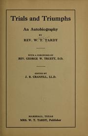 Trials and triumphs PDF