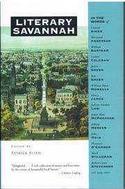 Literary Savannah (Literary Cities) by Patrick Allen