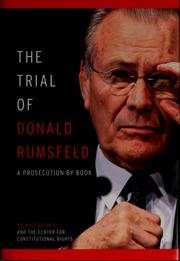 The trial of Donald Rumsfeld by Michael Ratner