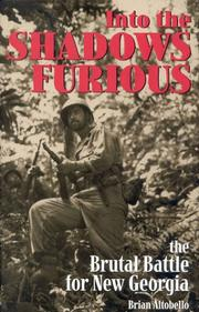 Into the shadows furious by Brian Altobello