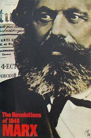 the revolutions of 1848  karl marx  missing paperback  375 pp   marxism