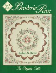 Broderie perse by Barbara W. Barber