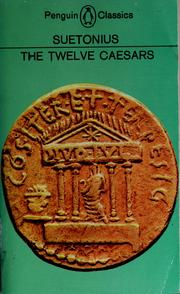 Cover of: De vita Caesarum by Suetonius