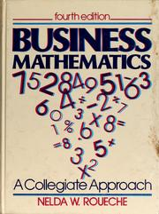 Cover of: Business mathematics by Nelda W. Roueche