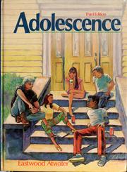 Cover of: Adolescence by Eastwood Atwater