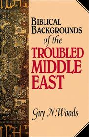 Biblical Backgrounds Of The Troubled Middle East PDF