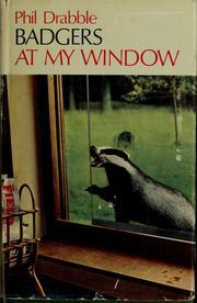Badgers at my window PDF