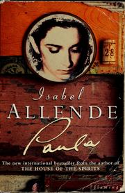 Cover of: Paula by Isabel Allende