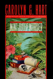 Cover of: Mint julep murder by Carolyn G. Hart