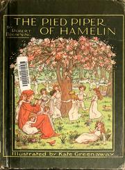 The Pied Piper of Hamelin by Mercer Mayer