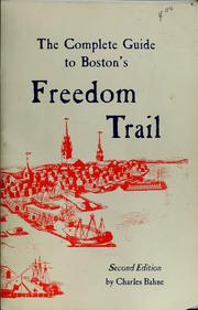 The complete guide to Boston's Freedom Trail PDF