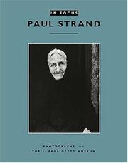 Paul Strand by Anne M Lyden