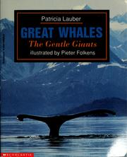 Cover of: Great whales by Patricia Lauber