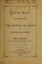 Little Mary PDF