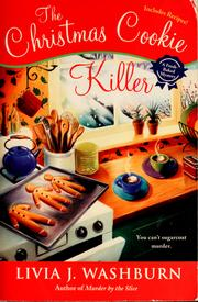 The Christmas cookie killer by L. J. Washburn