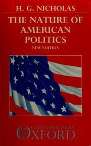 The nature of American politics PDF