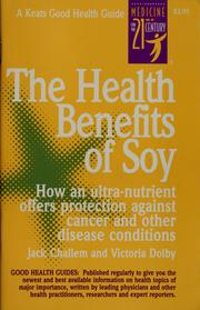 The health benefits of soy PDF