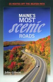 Maine's most scenic roads PDF