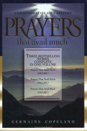 Prayers That Avail Much by Germaine Copeland