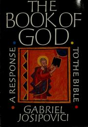 Cover of: The book of God by Gabriel Josipovici