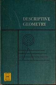 Descriptive geometry by E. G. Paré, E. G. Paré