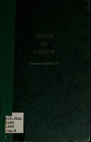 Aspects of anxiety PDF
