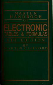 Master handbook of electronic tables & formulas PDF