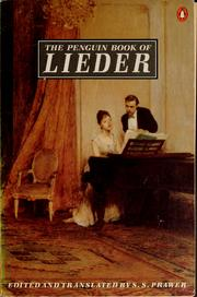 The Penguin book of Lieder by Siegbert Salomon Prawer