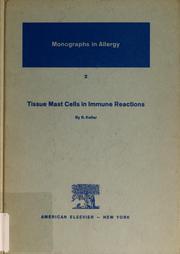 Tissue mast cells in immune reactions PDF