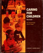 Caring for children by Mary Wanda Draper