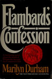 Cover of: Flambard's confession by Marilyn Durham