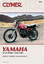 Yamaha XT & Tt500 Singles 1976-1981 by Mike Bishop