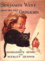 Benjamin West and his cat Grimalkin by Marguerite Henry