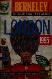 London on the loose, 1995 PDF