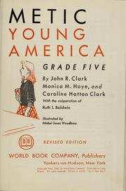 Cover of: Arithmetic for young America, grade five by Clark, John Roscoe