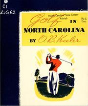 Golf in North Carolina PDF
