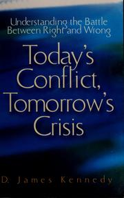 Today's conflict, tomorrow's crisis PDF