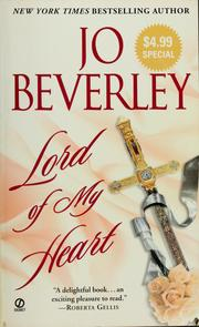 Cover of: Lord of my heart by Jo Beverley