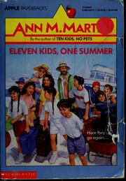 Eleven kids, one summer by Ann M. Martin
