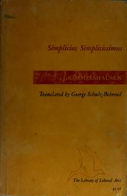 Simplicius Simplicissimus by Hans Jakob Christoffel von Grimmelshausen, Hans Jakob Christoph von Grimmelshausen