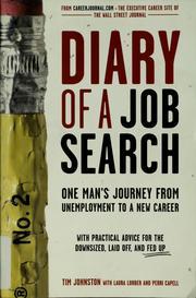 Diary of a job search PDF