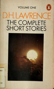 Short stories by D. H. Lawrence