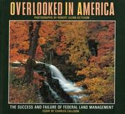 Overlooked in America by Robert Glenn Ketchum