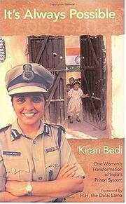 It&#39;s always possible by Kiran Bedi
