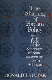 The shaping of foreign policy PDF