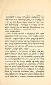 Remarks of Hon. J. Holt, at a dinner in Charleston, South Carolina, on the evening of the 14th of April, 1865 PDF