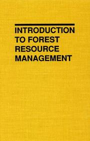 Introduction to forest resource management PDF