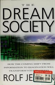 The dream society by Rolf Jensen