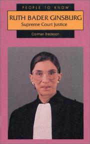 Ruth Bader Ginsburg by Carmen Bredeson